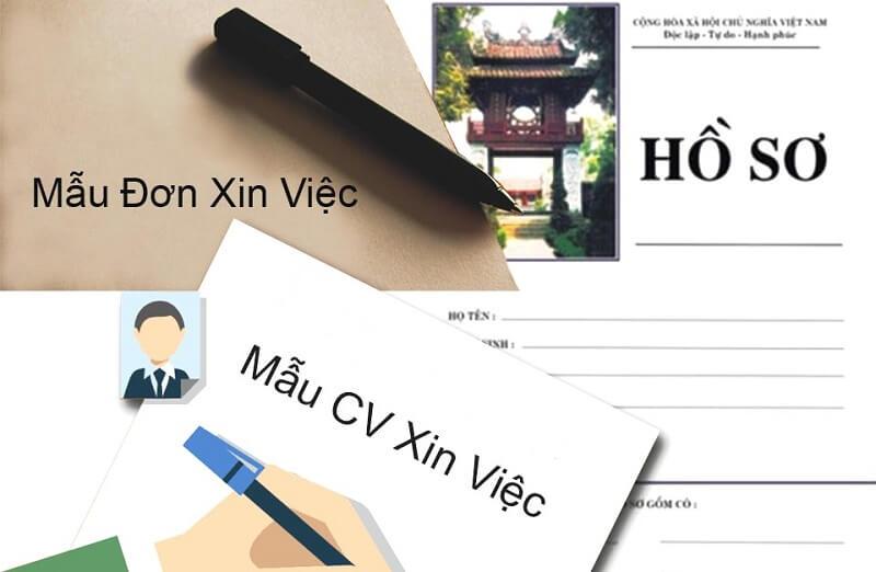 Mẫu CV xin việc viết tay